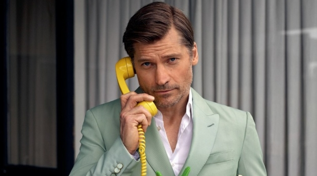 Nikolaj Coster-Waldau Covers GQ Germany, Promotes 'Game of Thrones'