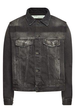 Off-White Exaggerated Denim Jacket