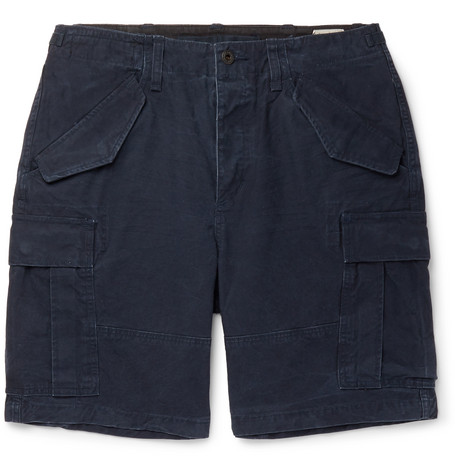 Polo Ralph Lauren - Cotton Drawstring Cargo Shorts - Men - Navy
