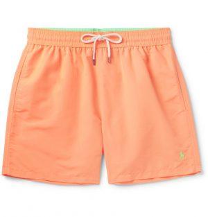Polo Ralph Lauren - Mid-Length Swim Shorts - Men - Orange