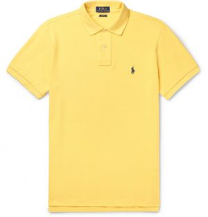 Polo Ralph Lauren - Slim-Fit Cotton-Piqué Polo Shirt - Men - Yellow