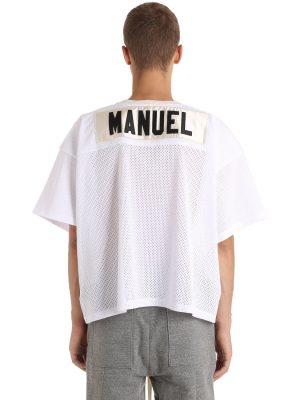 Printed Mesh T-shirt