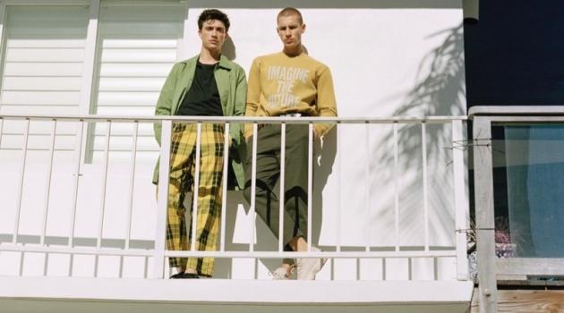Instant Paradise: Augusta Alexander & Jacob Bixenman for Pull & Bear