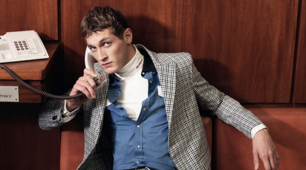 The Big Easy: Rutger Schoone Dons Office Style for Harvey Nichols