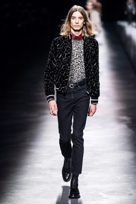 Saint Laurent Does Tailoring & Prints for Fall '19 Collection