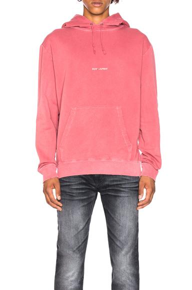 Saint Laurent Raglan Hoodie in Pink. - size M (also in )