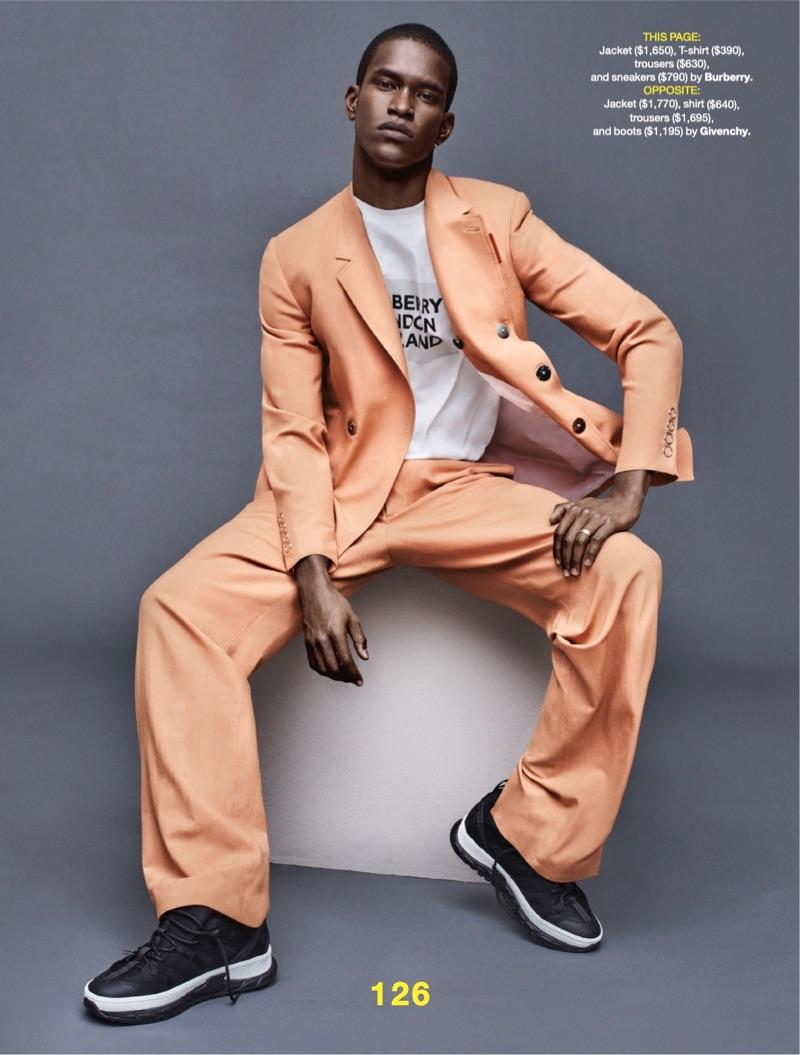 Reboot Your Suit: Salomon Diaz Suits Up for Esquire Story