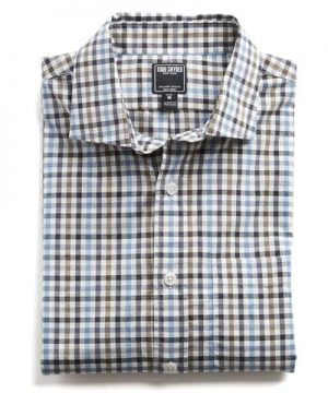 Spread Collar Tattersall Shirt