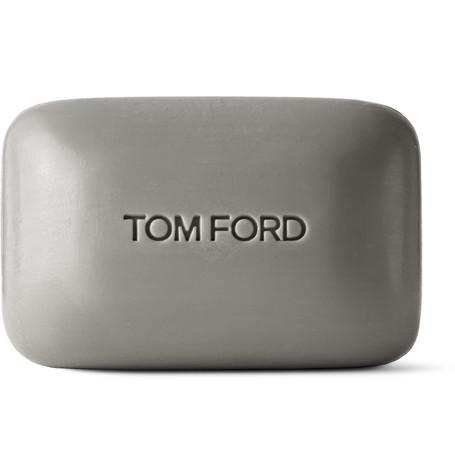 TOM FORD BEAUTY - Oud Wood Bar Soap, 150g - Men - Gray