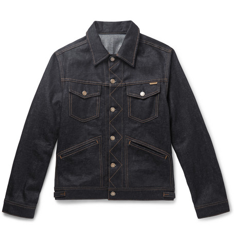 TOM FORD - Denim Jacket - Men - Blue