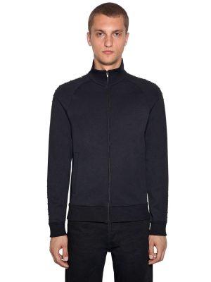 Techno Jersey Zip-up Jacket