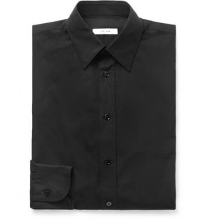 The Row - Ahmet Sea Island Cotton-Poplin Shirt - Men - Black