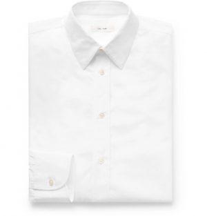 The Row - Ahmet Sea Island Cotton-Poplin Shirt - Men - White