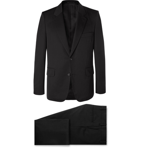 The Row - Black David Slim-Fit Wool-Twill Suit - Men - Black
