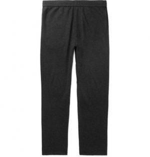The Row - LA Slim-Fit Cashmere-Jersey Sweatpants - Men - Black