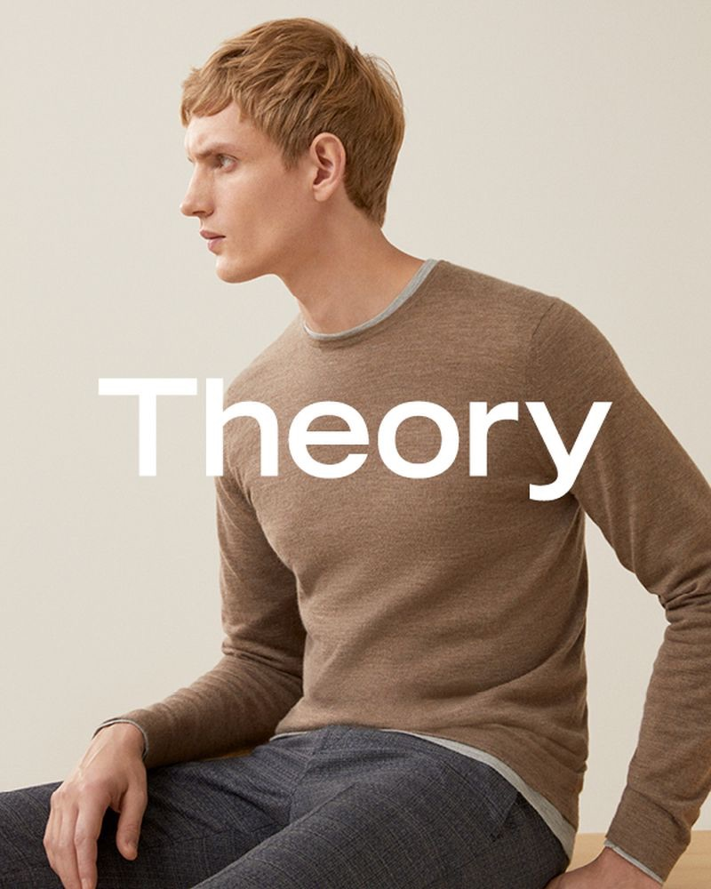 Theory taps Paul Boche as the face of its spring-summer 2019 campaign.