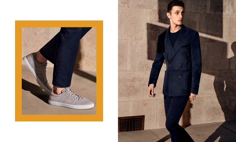 Anwar Hadid fronts Tod's spring-summer 2019 campaign.