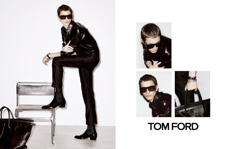 Tom Ford taps Henry Kitcher to star in its spring-summer 2019 campaign.