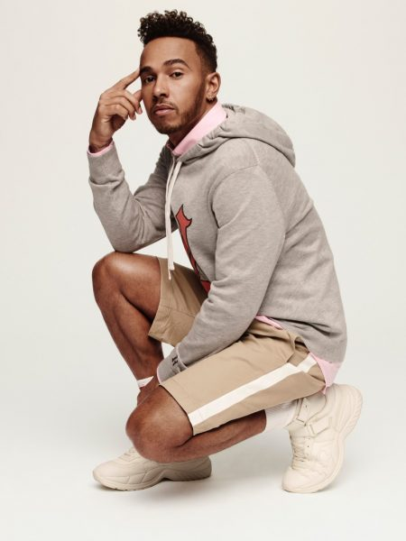 Lewis Hamilton Reunites with Tommy Hilfiger for TommyxLewis Spring '19 Collection