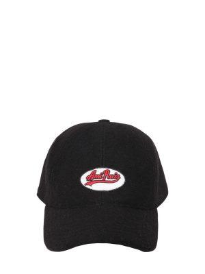 Virgin Wool Blend Baseball Hat