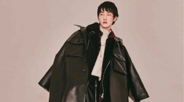 Wang Hong Yu Sports Coats for Men's Uno Taiwan