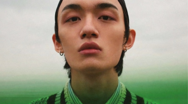 Wang Run Ze Stuns in Spring Story for Men's Uno Hong Kong