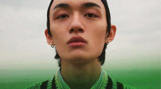 Wang Run Ze Stuns in Spring Story for Men's Uno Hong Kong