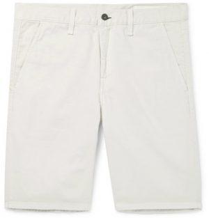 rag & bone - Standard Issue Cotton-Twill Shorts - Men - Beige