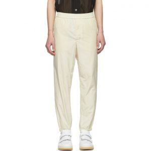AMI Alexandre Mattiussi Off-White Jogging Lounge Pants