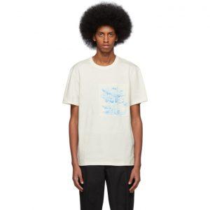 AMI Alexandre Mattiussi Off-White Patch T-Shirt