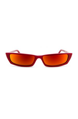 Acne Studios Agar Glasses in Red.