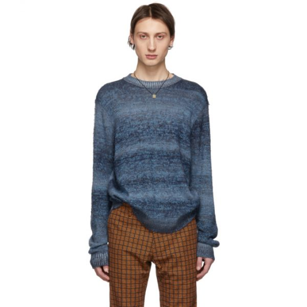 Acne Studios Blue Striped Sweater