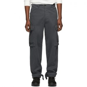 Acne Studios Grey Pat Cargo Pants