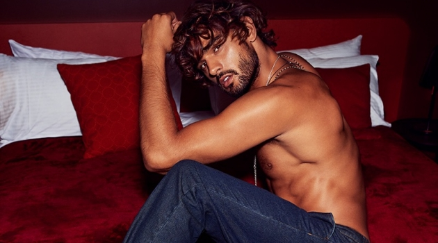 Front and center, Marlon Teixeira stars in Calibre's fall-winter 2019 campaign.