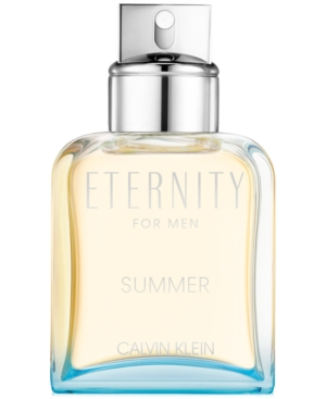 Calvin Klein Men's Eternity Summer Limited Edition Eau de Toilette, 3.3-oz.