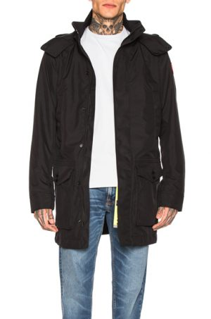 Canada Goose Crew Trench in Black. - size M (also in S)