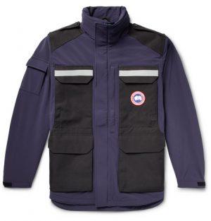 Canada Goose - Photojournalist Slim-Fit Two-Tone Tri-Durance Jacket - Men - Storm blue