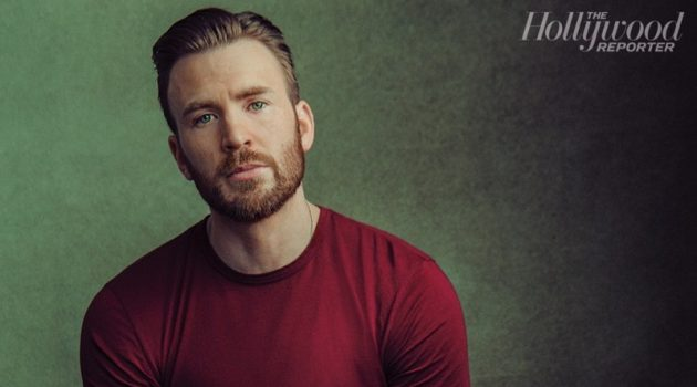 Actor Chris Evans stars in a photo shoot for The Hollywood Reporter.