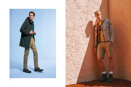 Pasquale Nappi Hits the Beach for Colmar Originals Spring '19 Campaign