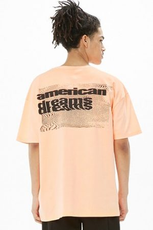Corella American Dreams Graphic Tee at Forever 21 Orange