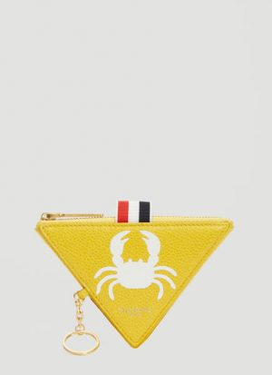 Crab Triangle Coin Pouch Wallet