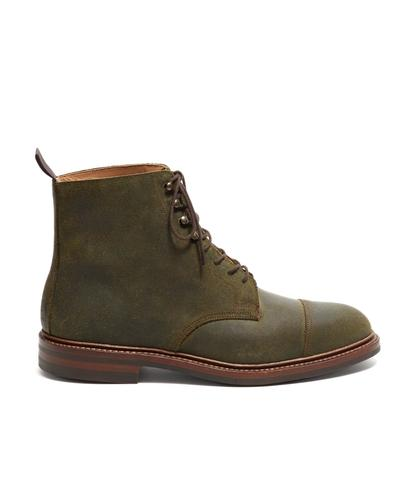29f19619e4a Crockett and Jones Coniston Green Rough Out Suede
