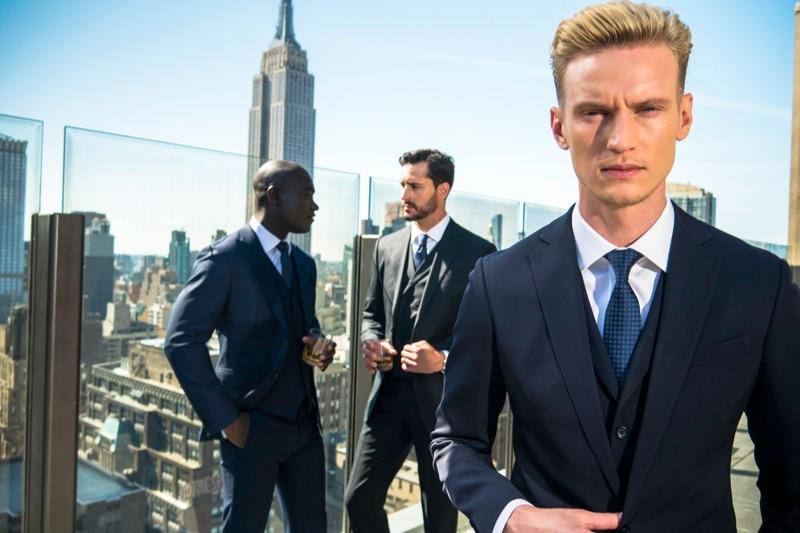 Bespoke suits by Enzo Custom