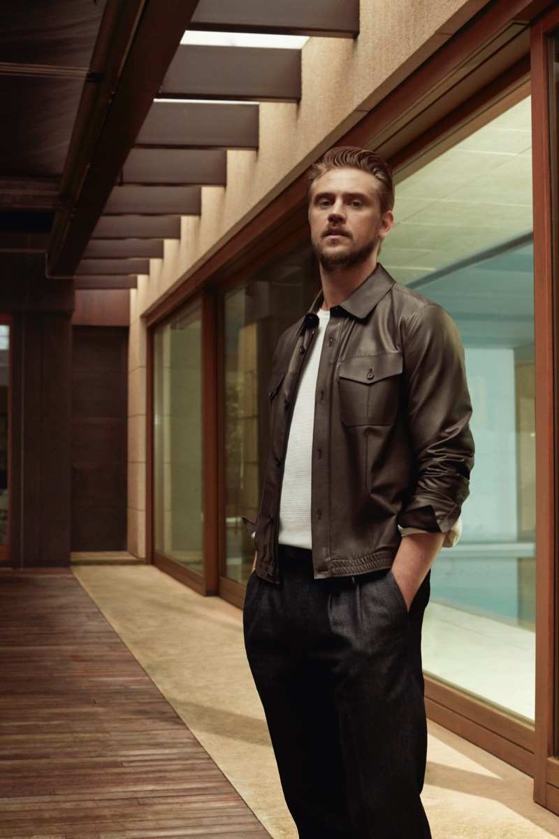 Actor Boyd Holbrook connects with Ermenegildo Zegna for its spring-summer 2019 campaign.