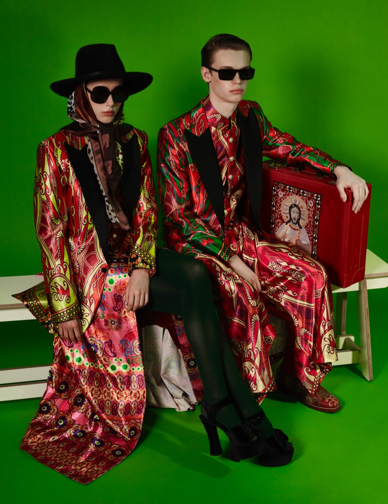 Rama Lee photographs Zuzanka and James in regal looks by Helen Anthony.