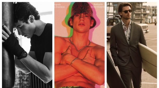 Week in Review: Shawn Mendes for Emporio Armani, Augusta Alexander, Mango + More