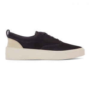 Fear of God Black Suede Sneakers