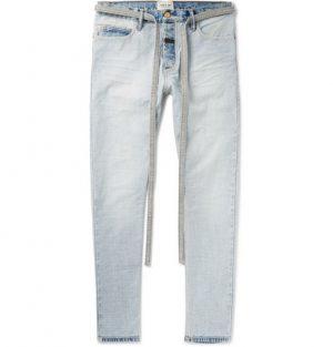 Fear of God - Slim-Fit Denim Jeans - Men - Light blue
