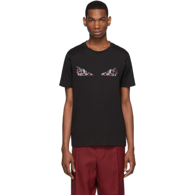 fa9413969 Fendi Black Bag Bugs Card Icon T-Shirt | The Fashionisto