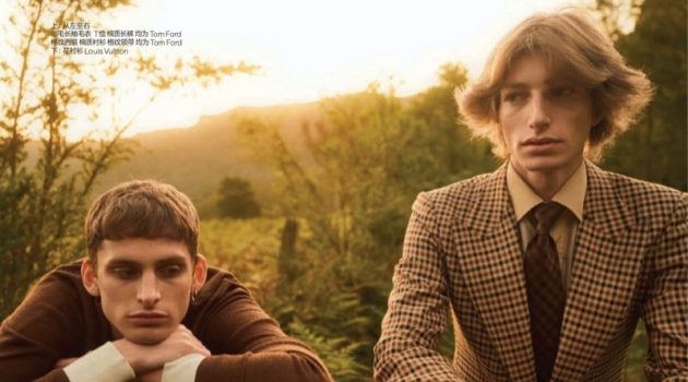 In the Valley: Joel Lumbroso & Ethan Kinlock for GQ China